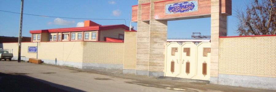 تخریب و بازسازی مدرسه امید عجبشیر